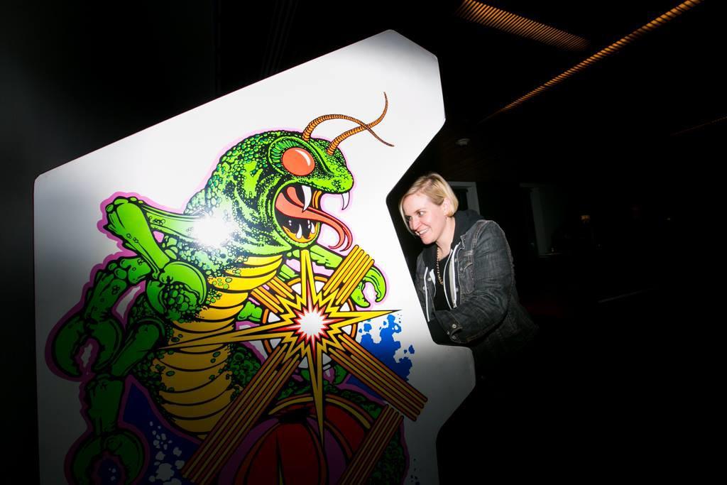 Arcade Rental event with Centipede arcade game