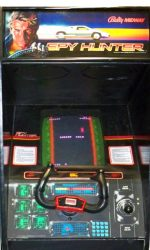 Spy Hunter Arcade Game