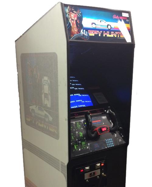 Spy Hunter Arcade Game RESTORED