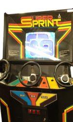 Super Sprint Arcade Game