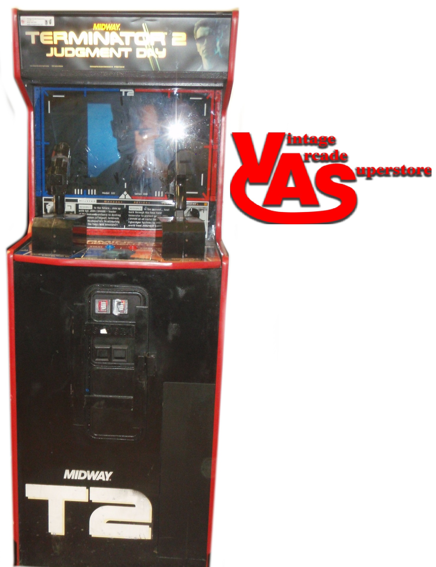 Terminator 2 arcade online game funny japanese tv game show 2