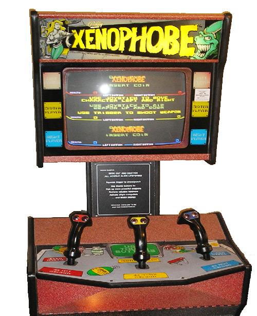 Xenophobe Arcade Game