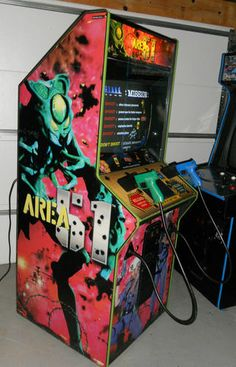 Area 51 by Atari COIN-OP Arcade Video Game | eBay