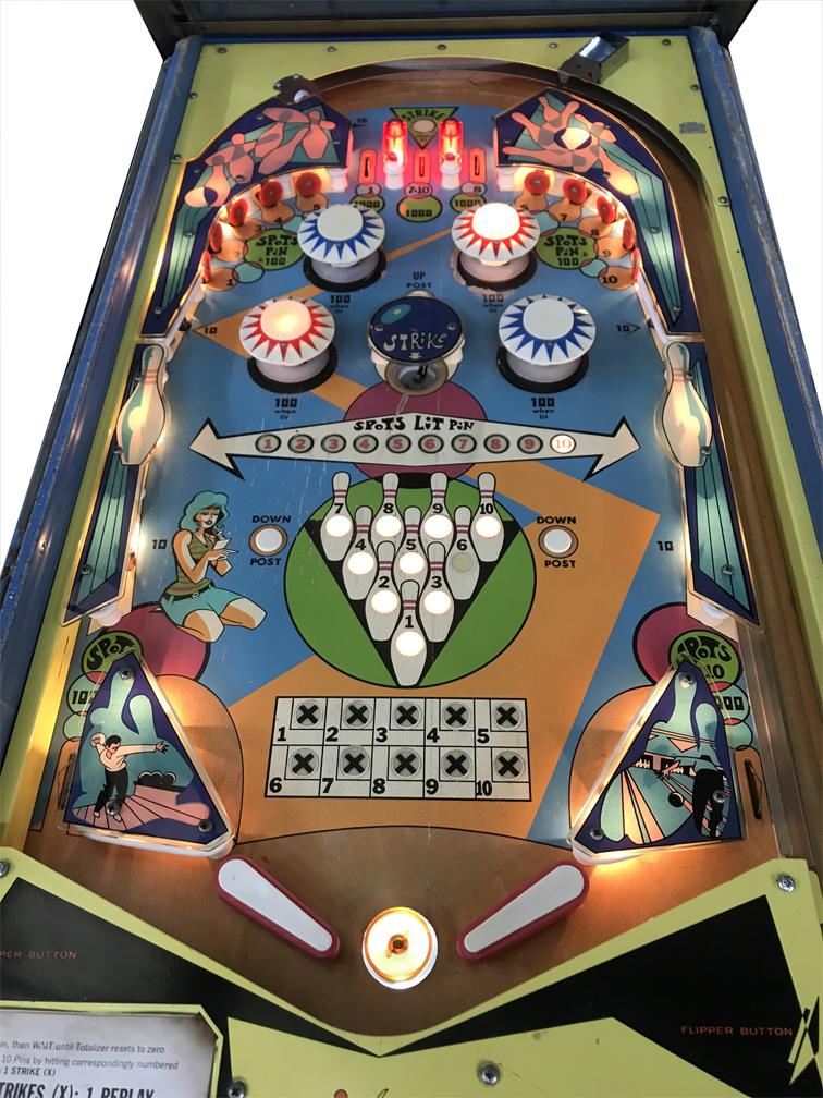 Bowl O Pinball Machine Vintage Arcade Superstore