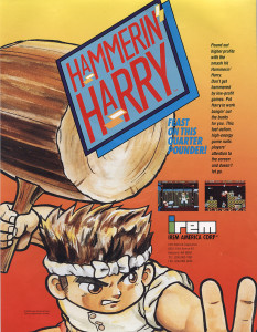 hammerin_harry_arcade_flyer