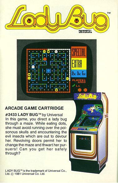 Ladybug Vintage Arcade Superstore