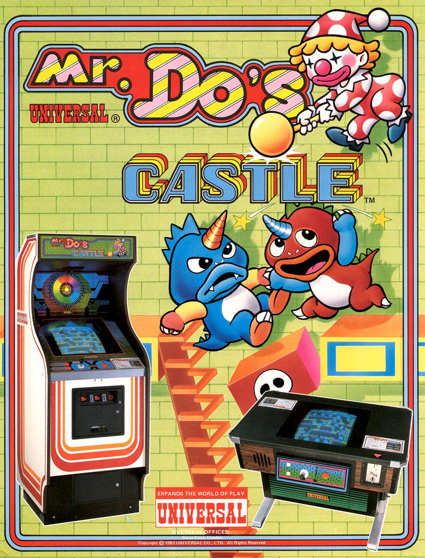 Vintage Arcade Games >> Mr. Do's Castle - Vintage Arcade Superstore