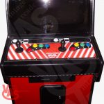 Neo Geo with red sides control panel arcade game for sale