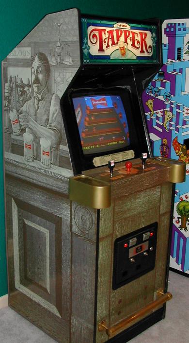 Tapper Arcade Game For Sale Vintage Arcade