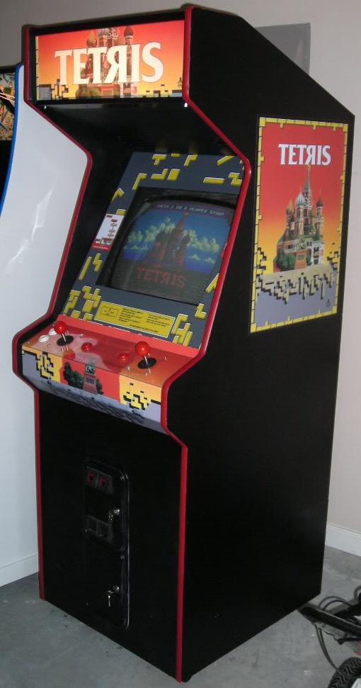 Vintage Arcade Games >> Tetris Arcade Game | Vintage Arcade Superstore