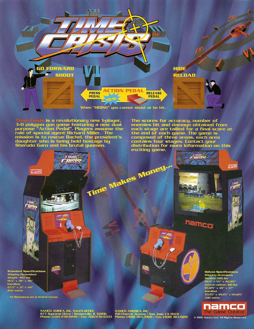 Time Crisis Arcade Game | Vintage Arcade Superstore
