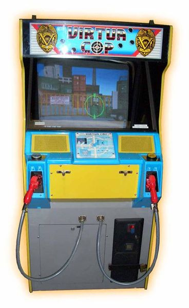virtua cop arcade machine