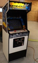 Wizard or Wor Arcade Game