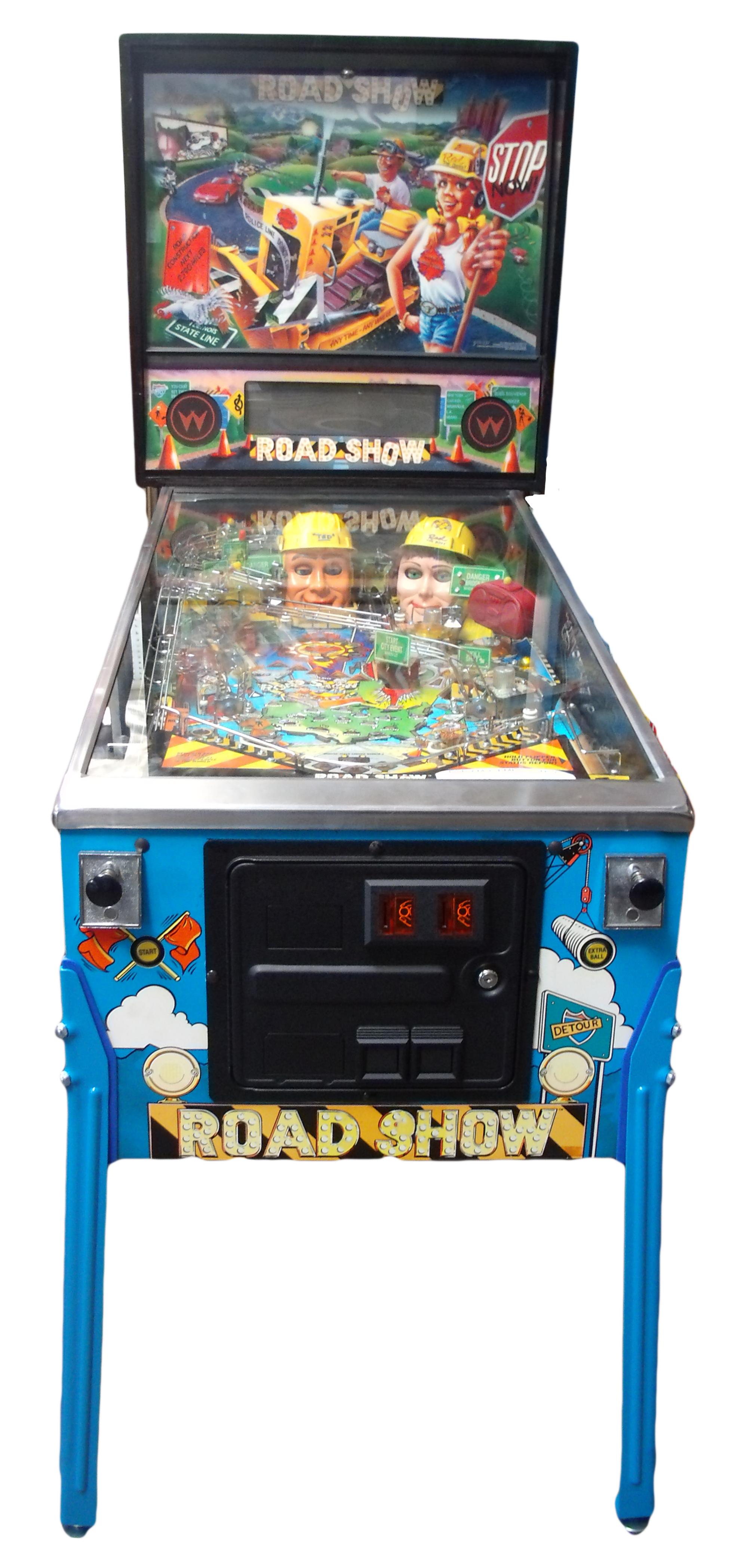 arcade pinball machine