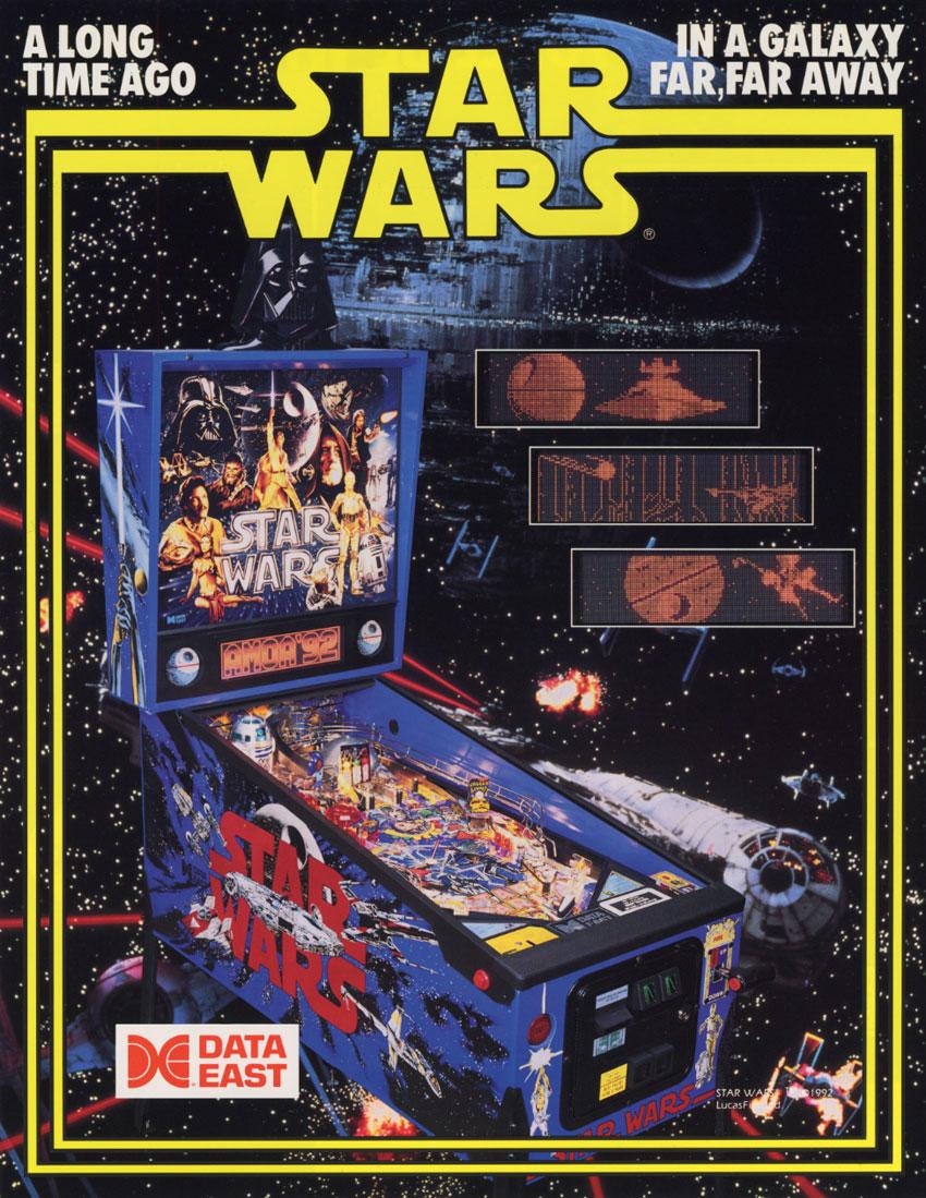 Star Wars Pinball Machine >> Star Wars Pinball Machine Vintage Arcade Superstore