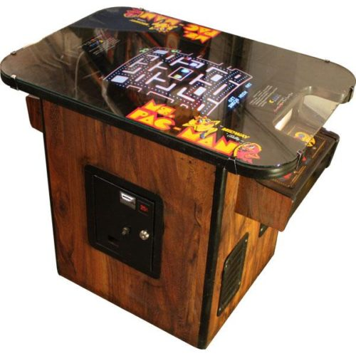ms. pacman cocktail table