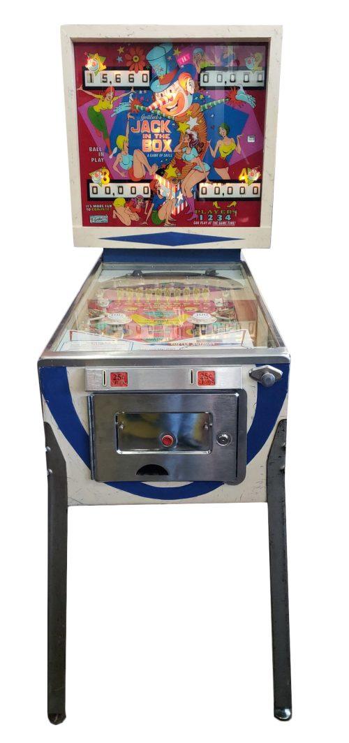 Jack in the Box Pinball Machine