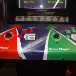 Blasteroids Arcade Game Control Panel