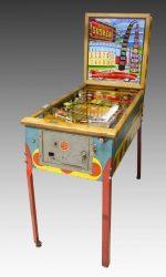 gusher pinball machine