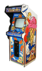 food fight arcade game