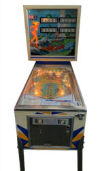 Surf Champ Pinball Machine Front