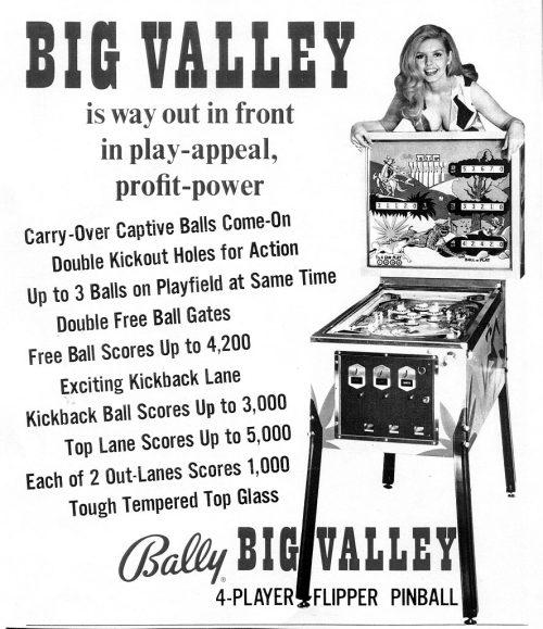 Big Valley Pinball Machine