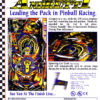 Mario Andretti Pinball Machine Flyer