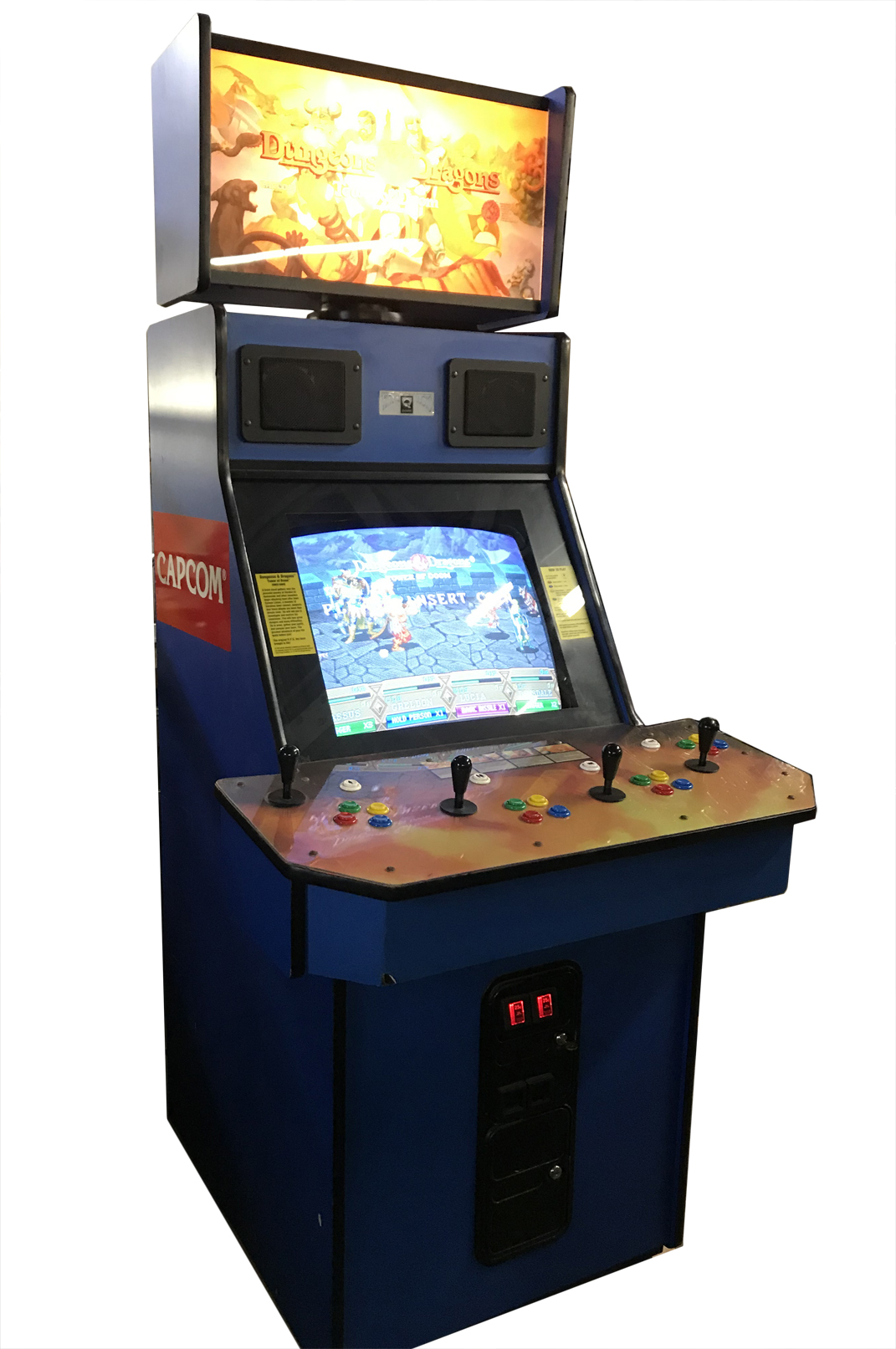 Dungeons And Dragons Arcade Game Vintage Arcade Superstore