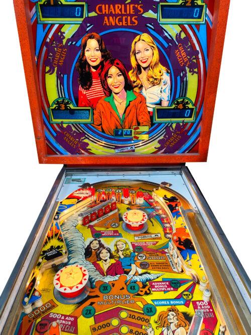 Charlie's Angels Pinball Machine For Sale
