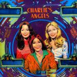 Charlie's Angels Pinball Machine Backglass Art Detail