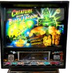 Creature Black Lagoon Pinball Machine Backglass