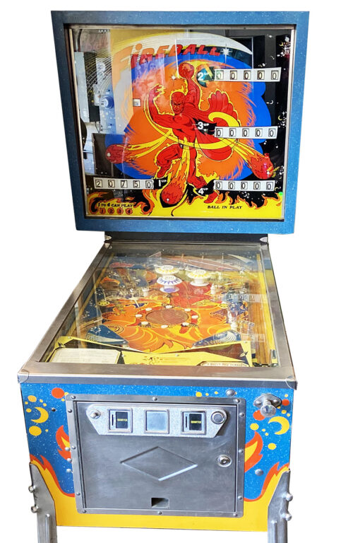 Fireball Pinball Machine For Sale