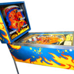 Fireball Pinball Machine Side View