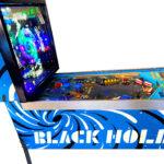 Black Hole Pinball Machine Side View